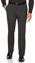 Perry Ellis Regular-Fit Flat-Front Houndstooth Pants