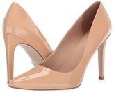 Massimo Matteo Willamina Patent Pump (Black Patent) Women's Shoes