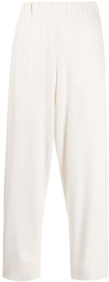 Barena Elasticated-Waist Tapered Trousers