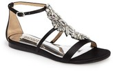 Badgley Mischka Women's Barstow Embellished Strappy Sandal