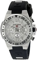 Swiss Legend Men's 14085SM-02 Opus Analog Display Swiss Quartz Black Watch
