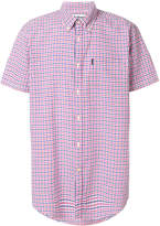 Barbour short sleeved gingham check shirt