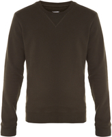 Maison Margiela Elbow-patch crew-neck sweatshirt