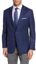 Hickey Freeman Men's Beacon Global Guardian Classic Fit Wool Blazer