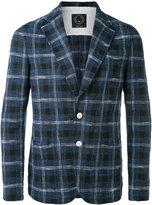 Tonello checked blazer - men - Cotton/Polyamide/Spandex/Elastane - M