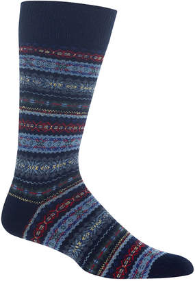 Polo Ralph Lauren Men Fair Isle Wool Socks