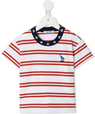 Familiar striped sailor T-shirt