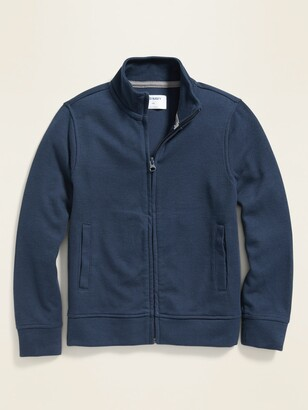 Old Navy French-Rib Zip-Front Sweater Jacket for Boys
