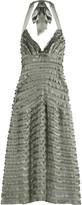Juliana halter dress