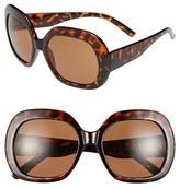 A. J. Morgan A.J. Morgan 'Jackie' 53mm Sunglasses