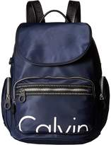 Calvin Klein Athleisure Nylon Calvin Backpack Backpack Bags