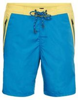 Hugo Boss Prowfish Quick Dry Board Shorts M Open Blue