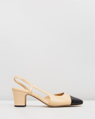 Atmos & Here Pamela Leather Heels