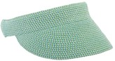 Jendi Plain Braid Visor Sea Mist