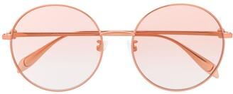 Alexander McQueen Eyewear Round Frame Sunglasses