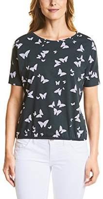 Street One Women's 312288 T-Shirt,14 (Manufacturer Size: )