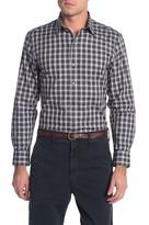 Zachary Prell Plaid Print Regular Fit Shirt