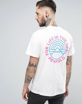 Penfield Emblem Back Print T-Shirt in White