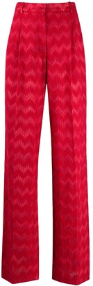 Missoni Zigzag High-Waisted Trousers