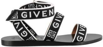 Givenchy Logo Strap Sandals