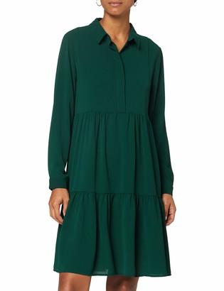 JDY Women's JDYPIPER L/S Shirt Dress WVN NOOS Casual