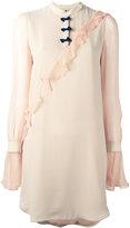 Marco De Vincenzo pleated trim dress - women - Silk - 40
