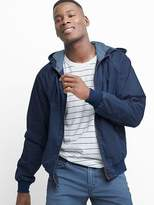 Gap Denim hoodie harrington jacket