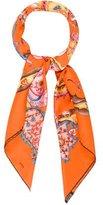 Hermes De Tout Coeur Silk Scarf