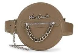 Vince Camuto Logo Faux Leather Belt Bag