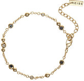 Reiss Corinthia Chain Bracelet With Swarovski Crystals