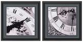 Clocks I by Photo INC (Framed Giclee) (Set of 2)