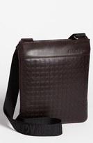 Salvatore Ferragamo Men's 'Gamma' Shoulder Bag - Brown