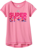 "adidas Girls 4-6x Super Star"" High-Low Tee"