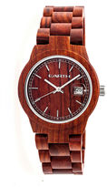 Earth Wood Biscayne Unisex Red Bracelet Watch-Ethew4203