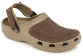 Crocs Khaki Suede Slip-on Sandals