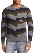 J Brand Quaezar Camo Stripe Sweater - 100% Exclusive