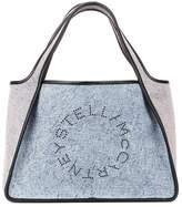 Stella McCartney Stella Logo denim tote