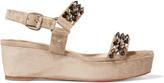 Christian Louboutin Bikee Deck 60 spiked suede platform sandals