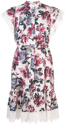 Erdem Lalique Rose Blossom dress