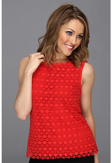 Vince Camuto Sleeveless Lace Blouse