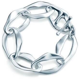 Tiffany & Co. Elsa Peretti Aegean toggle bracelet in sterling silver, small