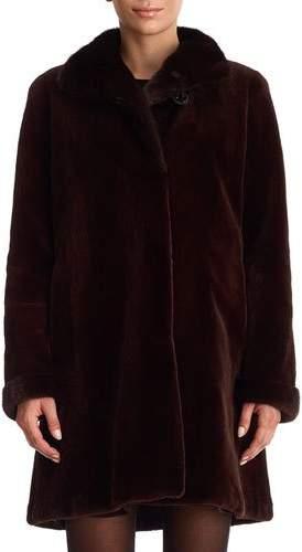 Gorski Reversible Mink Fur Stroller Coat