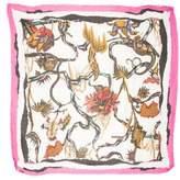 Balenciaga Multicolor Printed Scarf