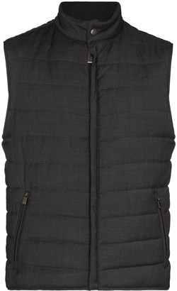 Canali Packable Padded Wool Gilet