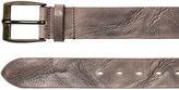Diesel 39mm Treated Leather Belt