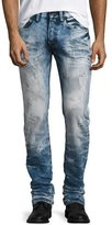 PRPS Bleached & Water-Treated Denim Jeans, Indigo