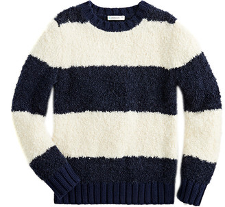 J.Crew Crewcuts By Loopy Yarn Crewneck Wool-Blend Sweater
