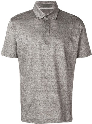 Corneliani Button Down Polo Top