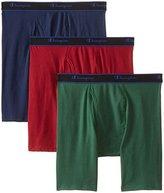 Champion Men's Performance Long Leg Boxer Briefs, 3 Pack