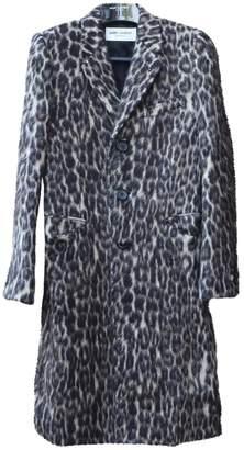 Saint Laurent Brown Wool Coats